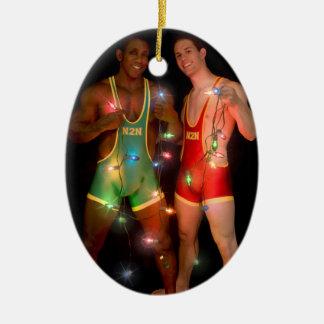 Ornamento De Cerâmica Natal 18346