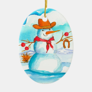 Ornamento De Cerâmica Natal conhecido feito sob encomenda do boneco de