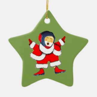 Ornamento De Cerâmica Natal da luta