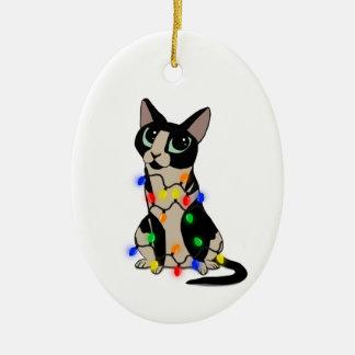 Ornamento De Cerâmica Natal de Meowy
