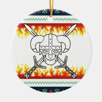 Ornamento De Cerâmica Natal de viquingue