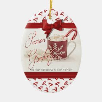 Ornamento De Cerâmica Natal Holidys, a melhor época do ano