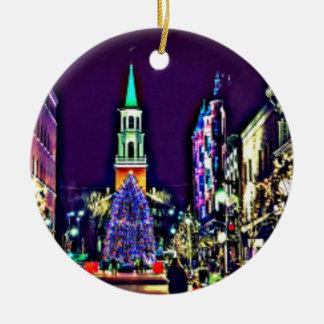 Ornamento De Cerâmica Natal na cidade