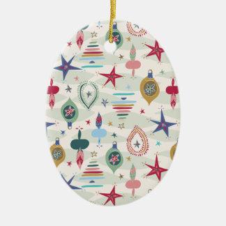 Ornamento De Cerâmica Natal vintage