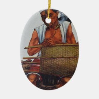 Ornamento De Cerâmica Nativo pobre