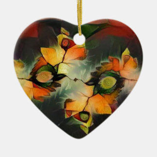 Ornamento De Cerâmica Natureza do abstrato do Fractal de Julia