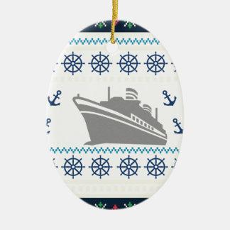 Ornamento De Cerâmica Navios de cruzeiros