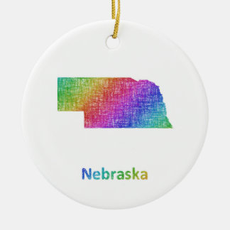 Ornamento De Cerâmica Nebraska