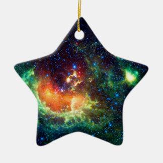 Ornamento De Cerâmica Nebulosa do Tadpole na constelação do Auriga