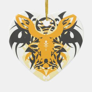 Ornamento De Cerâmica Nêmesis da abstracção dez