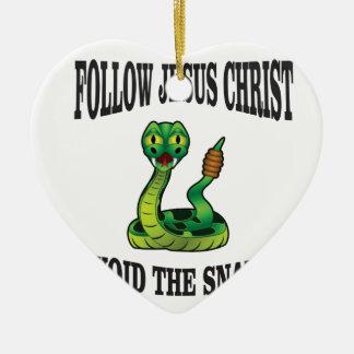 Ornamento De Cerâmica Nenhuns cobras com JC