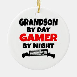 Ornamento De Cerâmica Neto pelo Gamer do dia em a noite