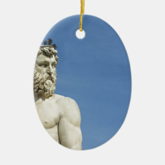 Ornamento De Cerâmica Netuno em Florence02