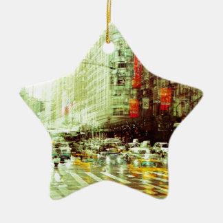 Ornamento De Cerâmica New York 2