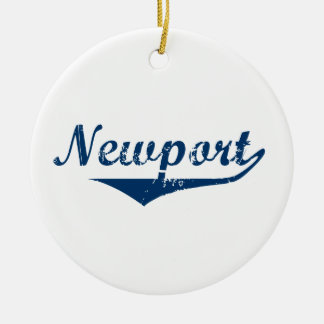 Ornamento De Cerâmica Newport