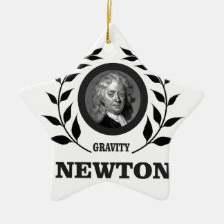 Ornamento De Cerâmica newton g do ramo