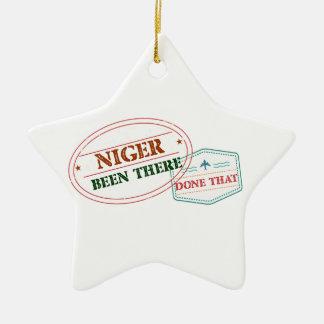 Ornamento De Cerâmica Niger feito lá isso