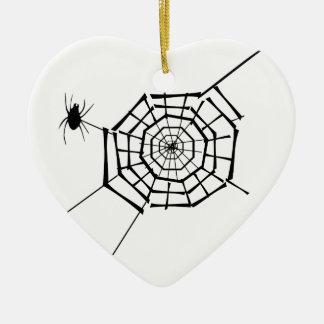 Ornamento De Cerâmica ninho da aranha