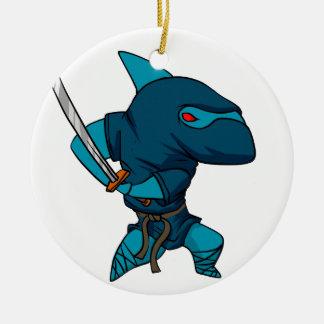 Ornamento De Cerâmica Ninja do tubarão