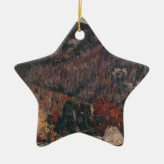 Ornamento De Cerâmica No. 25 da paisagem