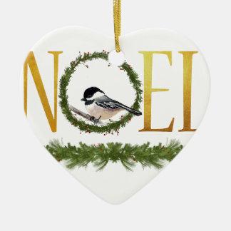 Ornamento De Cerâmica Noel
