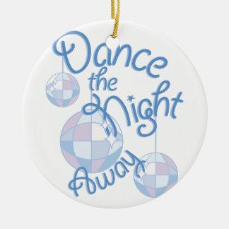 Ornamento De Cerâmica Noite da dança ausente