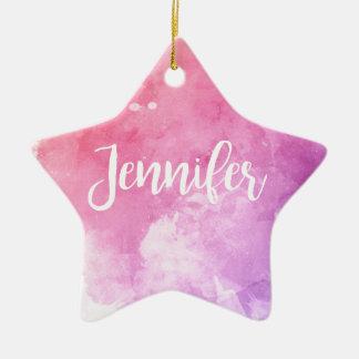Ornamento De Cerâmica Nome de Jennifer