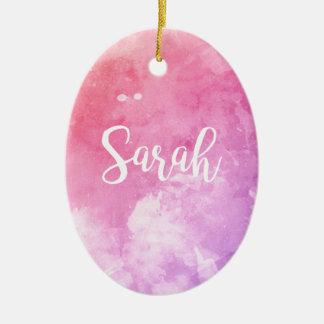 Ornamento De Cerâmica Nome de Sarah