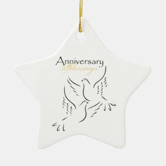 Ornamento De Cerâmica Nome feito sob encomenda, bênçãos do aniversário