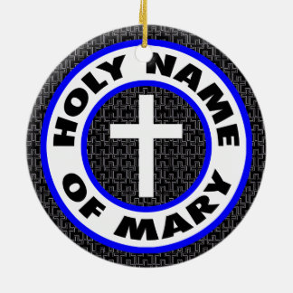 Ornamento De Cerâmica Nome santamente de Mary