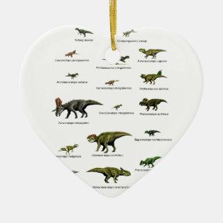 Ornamento De Cerâmica Nomes dos dinossauros