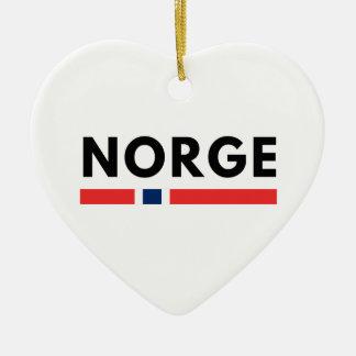 Ornamento De Cerâmica Norge