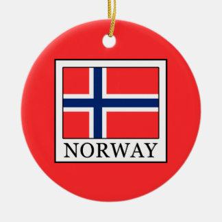 Ornamento De Cerâmica Noruega