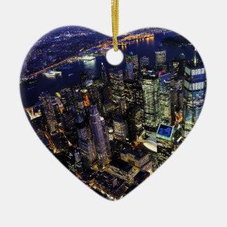 Ornamento De Cerâmica Nova Iorque