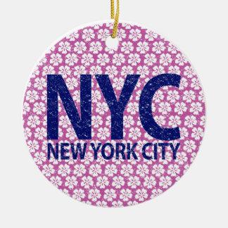 Ornamento De Cerâmica Nova Iorque NYC