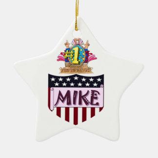 Ornamento De Cerâmica Número um Mike