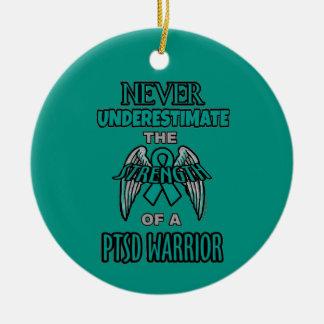 Ornamento De Cerâmica Nunca… guerreiro de PTSD
