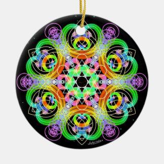 Ornamento De Cerâmica Nutra/trabalho em rede