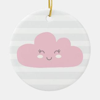 Ornamento De Cerâmica nuvem