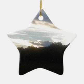 Ornamento De Cerâmica Nuvens 1