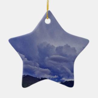 Ornamento De Cerâmica Nuvens 1 do rastejamento