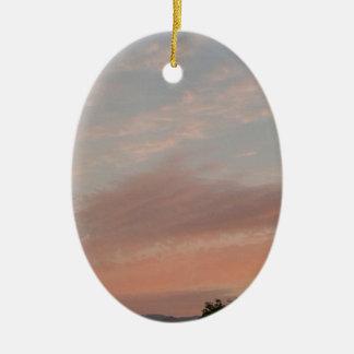 Ornamento De Cerâmica Nuvens estranhas 2