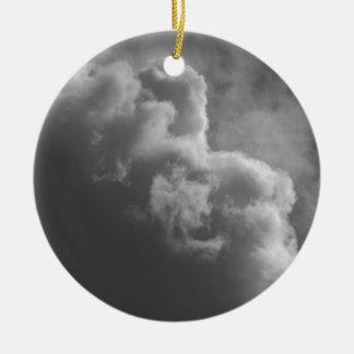 Ornamento De Cerâmica Nuvens tormentosos