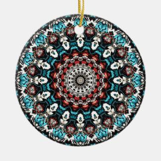 Ornamento De Cerâmica O abstrato dá forma à mandala