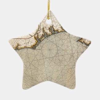 Ornamento De Cerâmica O Algarve Portugal 1690