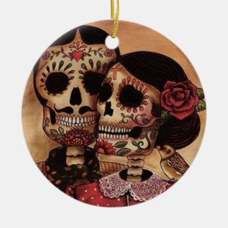 Ornamento De Cerâmica O amor verdadeiro nunca morre