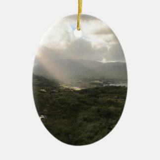 Ornamento De Cerâmica O anel do Kerry