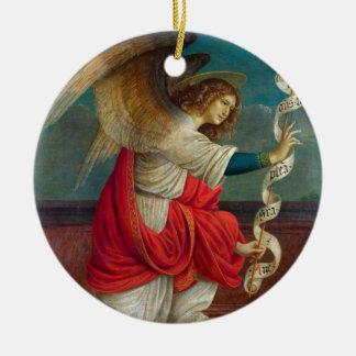 Ornamento De Cerâmica O anjo Gabriel - Gaudenzio Ferrari
