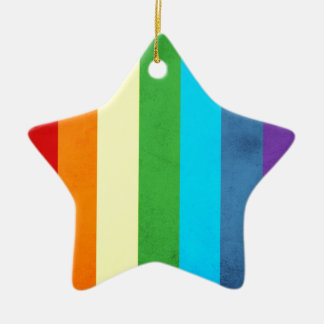 Ornamento De Cerâmica O arco-íris arfa o unicórnio