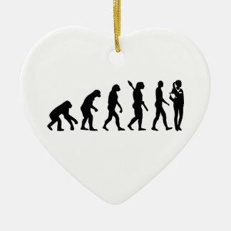 Ornamento De Cerâmica O assistente do doutor da evolução